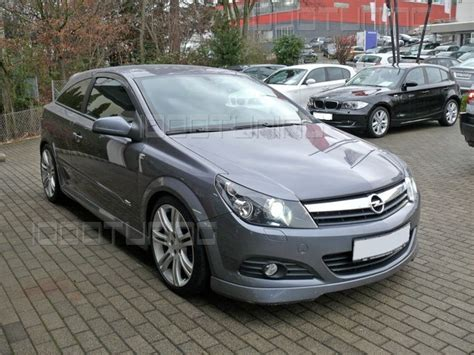 opel astra h gtc tuning opel astra h gtc top front spoiler spoiler lip opc lip tuning spoiler ebay