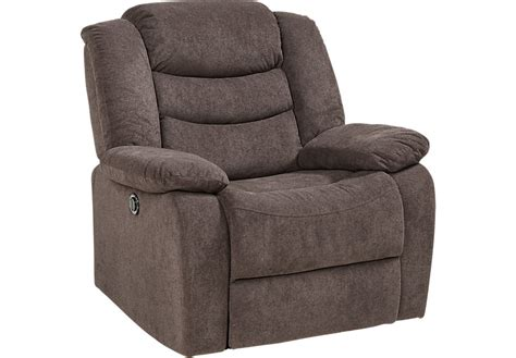 rooms to go recliners chocolate power recliner recliners brown
