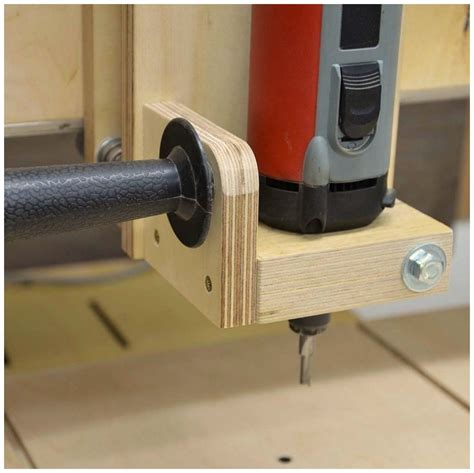 clever homemade  router table