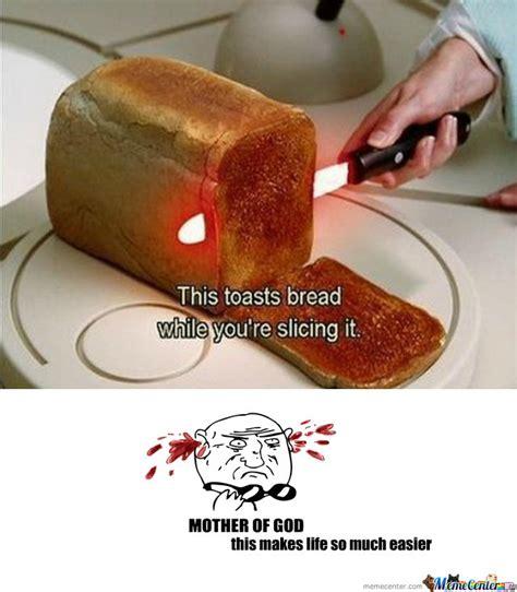 Toast Memes - bread toast knife by kubakowalczyk meme center
