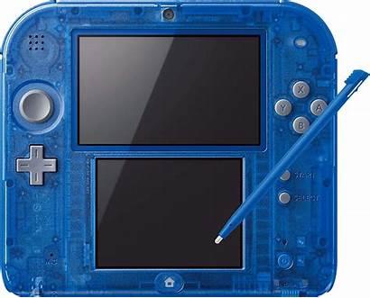 Nintendo 2ds Transparent Console Pokemon Pwned Sapphire