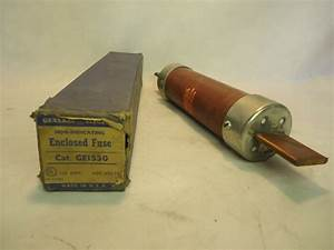 New In Box Ge General Electric Ge1530 110 Amp Fuse