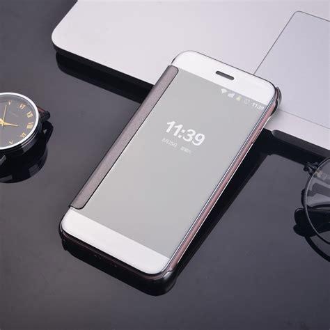flip image iphone apple iphone 7 plus flip cover mirror silver