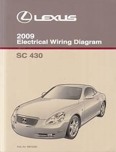 1997 Lexus Sc 30040wiring Diagram Original