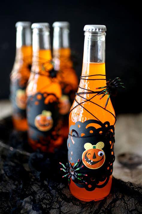 orange soda potion bottles evite
