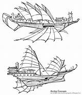 Airship Steampunk Drawing Deviantart Ship Concepts Shoomlah Ships Concept Blimp Flying Chinese Air Neopets Vector Airships Sails Fantasy Boat Spelljammer sketch template
