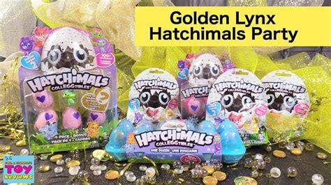 Hatchimals Colleggtibles Golden Lynx Season 2 Party Toy