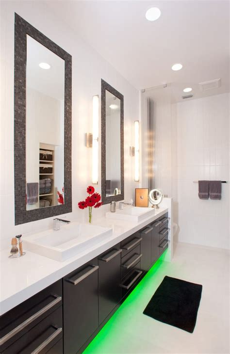 Bathroom Mirrors Miami by Miami Light Bathroom Contemporary With Recessed