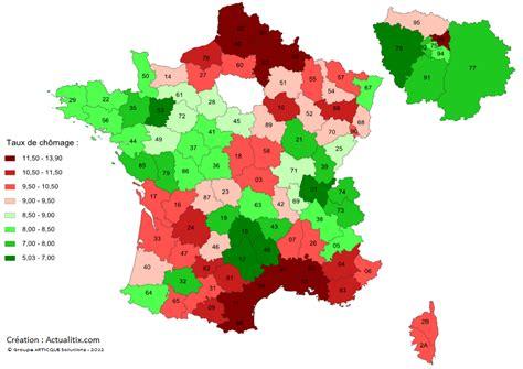 Carte De Par Departement 2018 by Taux De Ch 244 Mage Par D 233 Partement