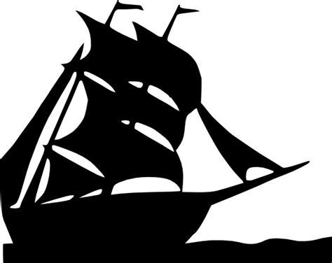 sailing boat silhouette clip art  clkercom vector