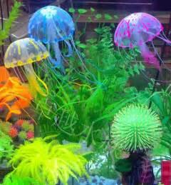 ue27 5 5 quot glowing effect artificial jellyfish fish tank aquarium decoration ebay