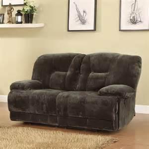 clifton dual power reclining loveseat brown sofas