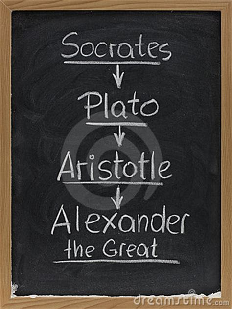 socrates plato aristotle  blackboard royalty
