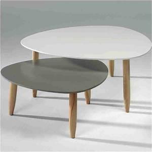 Table Basse Gigogne Scandinave : table basse gigogne scandinave alinea boutique gain de ~ Voncanada.com Idées de Décoration