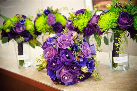 wedding theme purple and green our 8 favorite wedding trends for 2017 mywedstyle