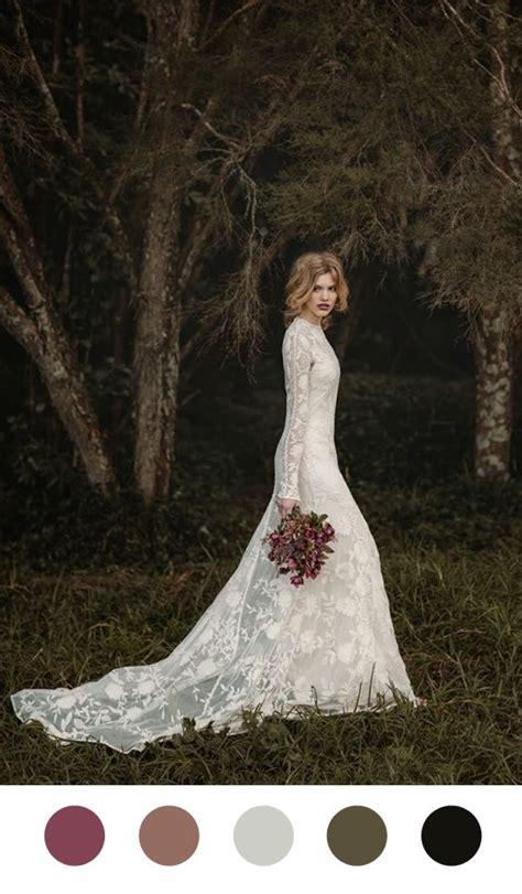 dreamy fairytale fall wedding ideas