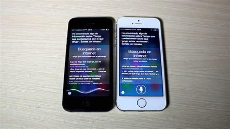 does iphone 4 siri siri iphone 5s hablando con iphone 5 16872