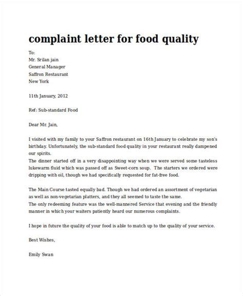 complaint letter  tipsenseme