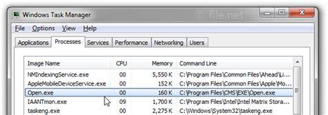 Open.exe Windows Process