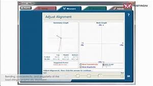Instron  Adjusting Materials Test Frame Alignment With Alignpro U2122 Software