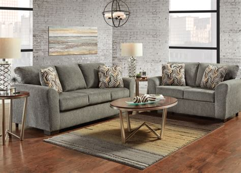 affordable furniture mfg  allure gray collection sleeper