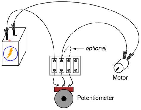 potentiometer as a rheostat dc circuits electronics textbook