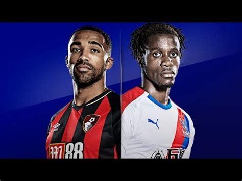 Bournemouth 0-2 Crystal Palace Watch Along - MILIVOJEVIC ...