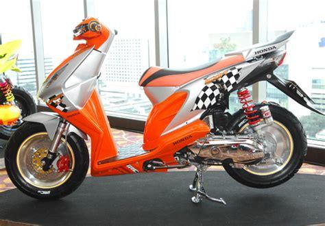 Modifikasi Jok Honda Beat by Foto Modifikasi Honda Beat Karburator Raja Kontes