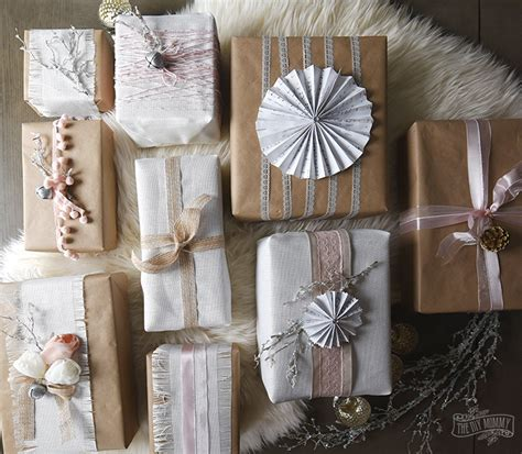 shabby chic gift ideas shabby chic christmas gift wrapping ideas 12monthsofdiy the diy mommy