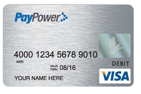 paypower visa prepaid card  prepaid debit cards