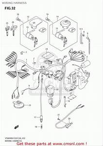 Suzuki Vs800  Usa  Wiring Harness