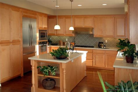 Kitchen Cabinets Images by Pictures Of Kitchens Traditional Light Wood Kitchen