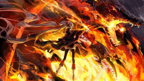 Anime Vire Wallpaper - nightcore bludfire
