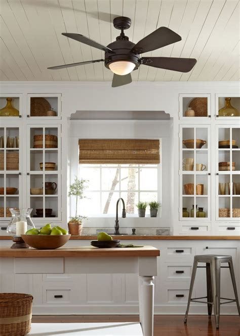 kitchen ceiling fans with lights kitchen and decor