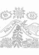 Coloring Ski Slope Mountain Slopes Positive Teacherspayteachers sketch template