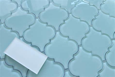 arabesque glass tile seafoam arabesque glass mosaic tiles rocky point tile glass and mosaic tile store