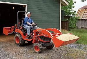 Kubota Tractor Rotary Mower Frontloader Bx1860 Bx2360