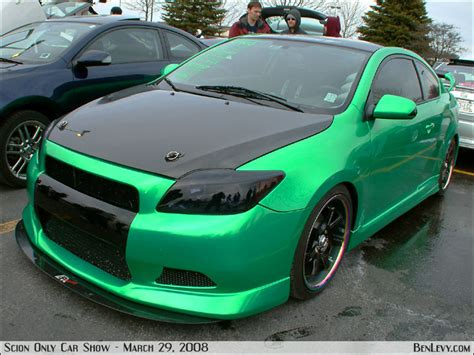 Scion Tc In Custom Green