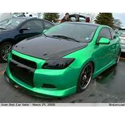 Scion TC In Custom Green  BenLevycom