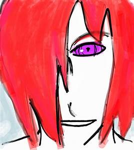 Nagato Uzumaki tablet drawing :) by Fran48 on DeviantArt
