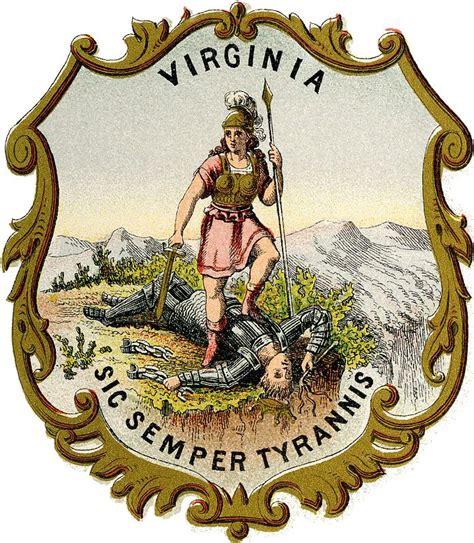 coat  arms  virginia  coat  arms civil war
