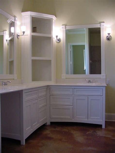 custom  shaker style    vanity kids bath