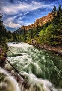 McDonald Creek Glacier National Park