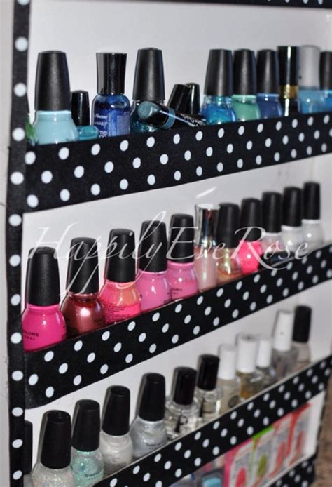 diy nail rack how to make your own nail rack diy projects craft