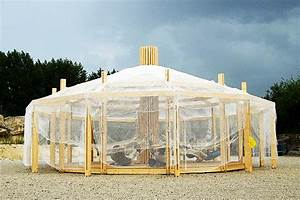 Chinoiserie: A Breezy Pop-Up Shelter Inspired by Mongolian ...