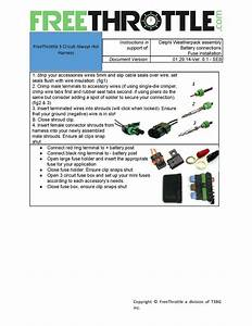 3 Circuit Un-switched Fuse Box Kit