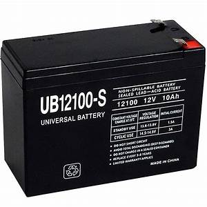 Batterie 12 Volts : upg sla 12 volt f2 terminal battery ub12100 s the home depot ~ Farleysfitness.com Idées de Décoration