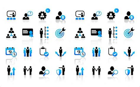 project management icon  psd eps vector icons