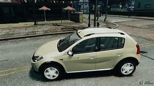 Renault Dacia Sandero : dacia sandero one kilometre stepway for gta 4 ~ Medecine-chirurgie-esthetiques.com Avis de Voitures