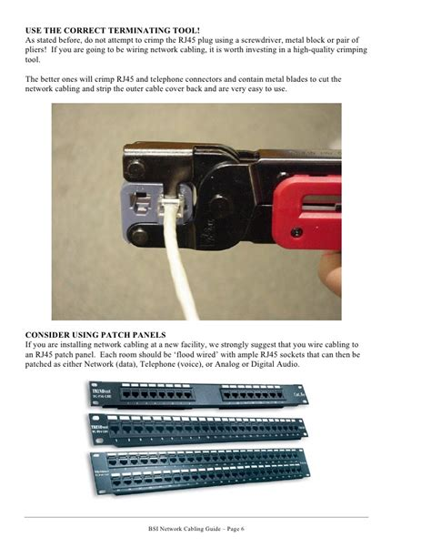 Network Cabling Guide Cat